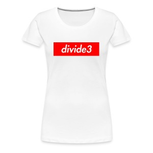 divide3 - Women's Premium T-Shirt