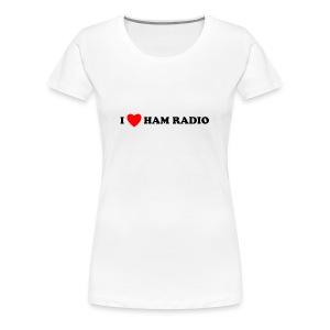 Ham Radio - Women's Premium T-Shirt