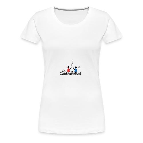 ContraVsSoul - Women's Premium T-Shirt