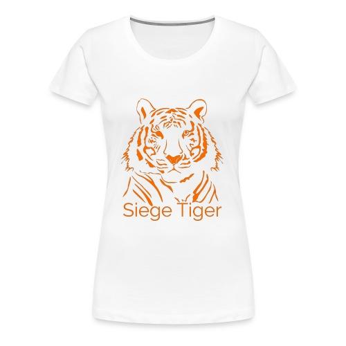 Siege Tiger Orange - Women's Premium T-Shirt