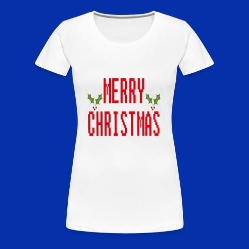 MerryChristmas - Women's Premium T-Shirt
