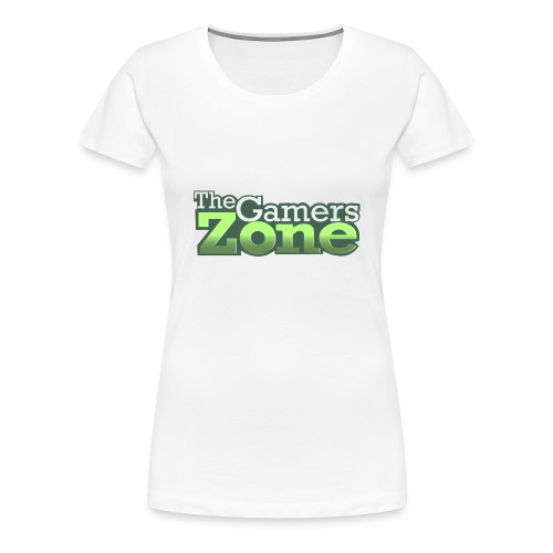 THE GAMERS ZONE - Women's Premium T-Shirt
