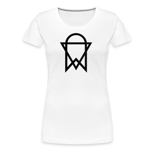 XMV Logo T-Shirt (Black) - Women's Premium T-Shirt