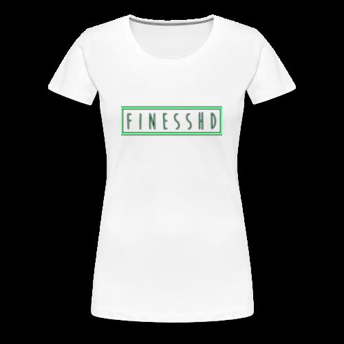 FinessHD - Women's Premium T-Shirt