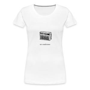 air conditioner - Women's Premium T-Shirt