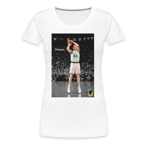 WITNESS: Brian Scalabrine - Women's Premium T-Shirt