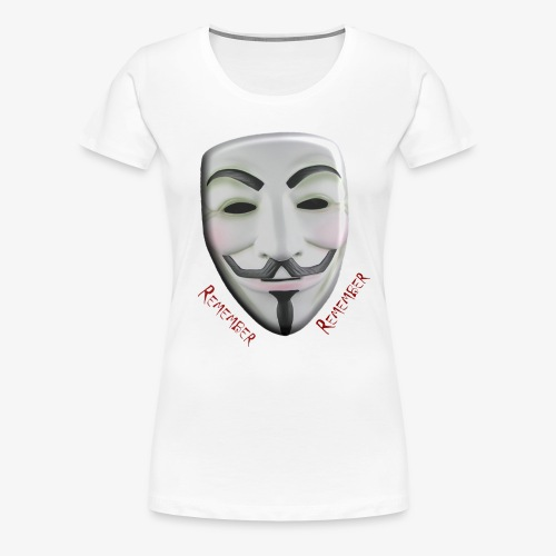 Guy Fawkes - Women's Premium T-Shirt