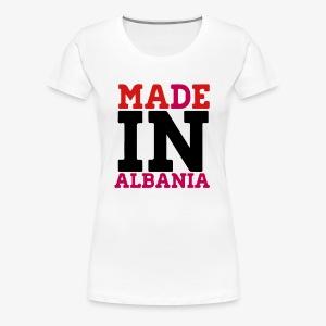 MADE IN ALBANIA - Women's Premium T-Shirt