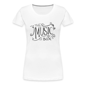 Black Music Box Logo - Women's Premium T-Shirt