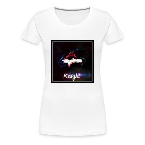 Wolf Knight - Women's Premium T-Shirt