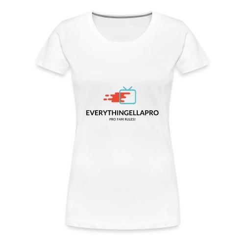 EverythingEllaPro TV Splash Design - Women's Premium T-Shirt