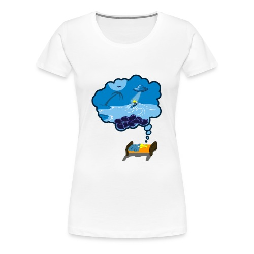 Strainge - Blue Dream Marijuana Strain shirt - Women's Premium T-Shirt