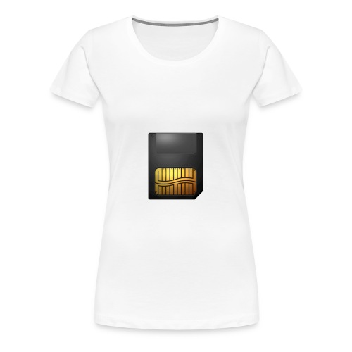 Memory Card - Women's Premium T-Shirt