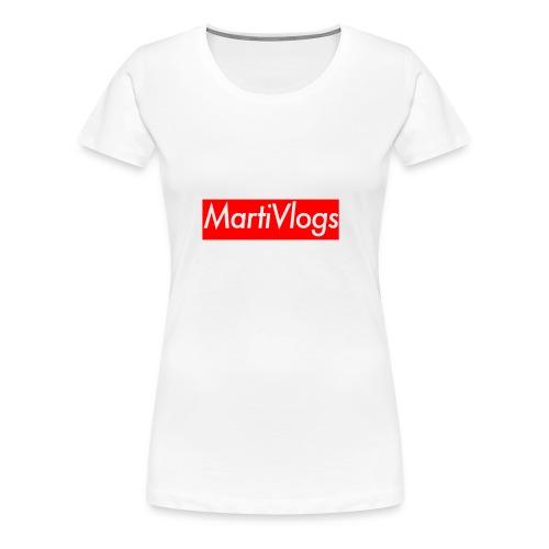MartiVlogs - Women's Premium T-Shirt