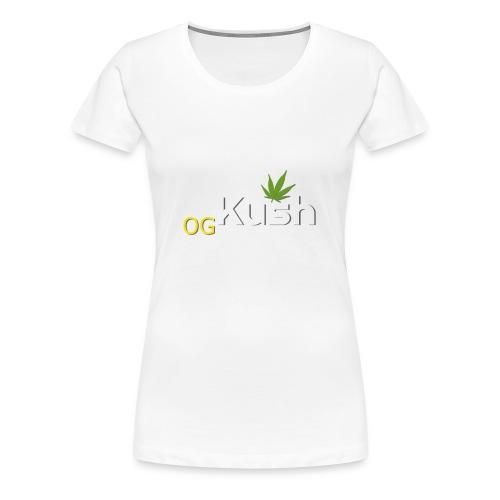 OG Kush t shirt - Women's Premium T-Shirt