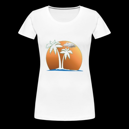 Summer and Gym and Beach Dress For Lover and Fond - Women's Premium T-Shirt