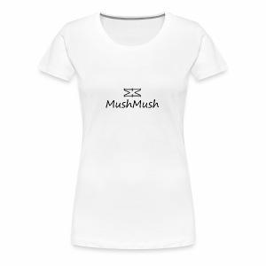 Logo On Light - Women's Premium T-Shirt