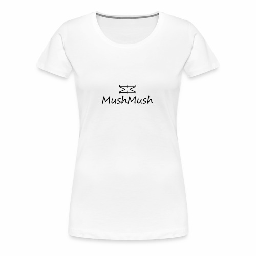 Logo On Light - Women's Premium T-Shirt