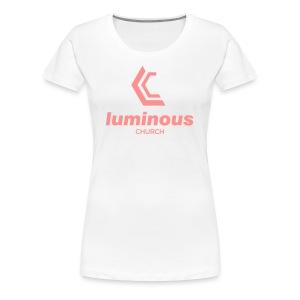 LUMINOUS LOGO - Women's Premium T-Shirt
