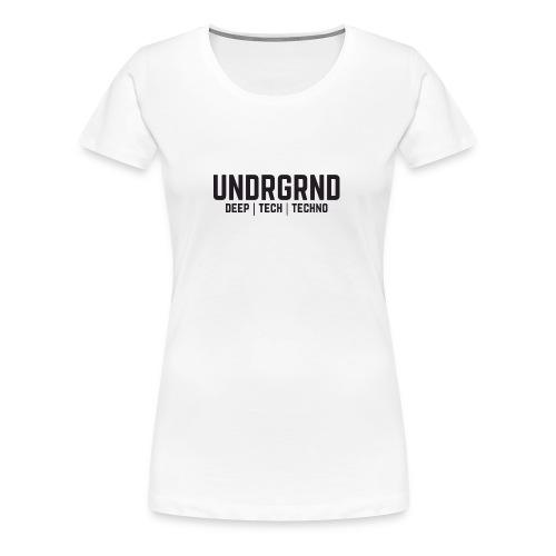 UNDRGRND - Women's Premium T-Shirt