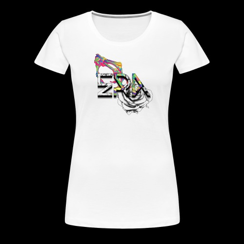 Death Blossum - Women's Premium T-Shirt