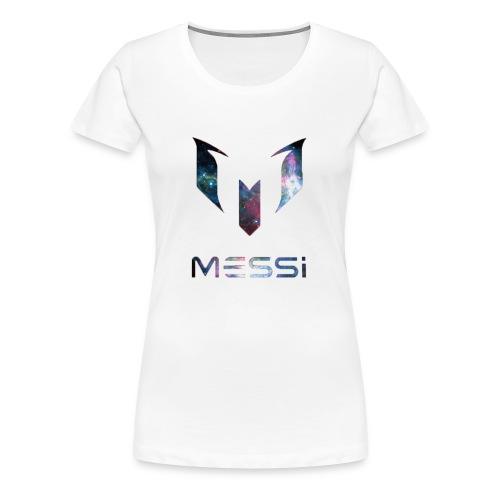 Lionel Messi Galaxy Logo - Women's Premium T-Shirt