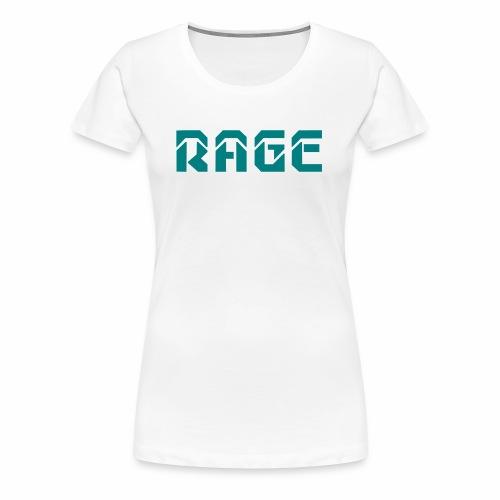 RAGE logo 2017 - Women's Premium T-Shirt