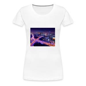 City - Women's Premium T-Shirt