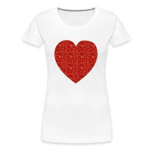 With All My Hart - Women's Premium T-Shirt