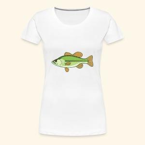 Fishking logo design - Women's Premium T-Shirt