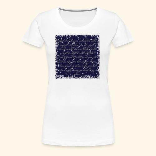 Dreams - Women's Premium T-Shirt
