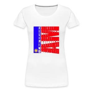 I AM FILIPINO colored - Women's Premium T-Shirt