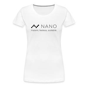 Nano Coin T-Shirt - Women's Premium T-Shirt