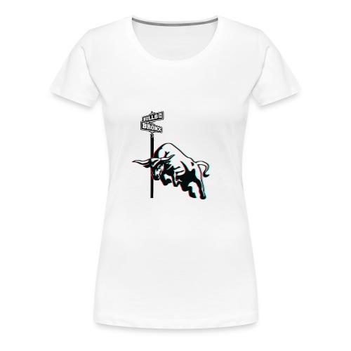 Bulls in the Bronx - Women's Premium T-Shirt