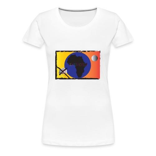 KariworlD OG logo - Women's Premium T-Shirt