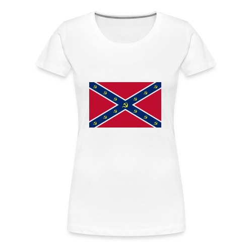 Confederate Communism - Women's Premium T-Shirt