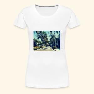 Blue Skies Beverley Hills Edition - Women's Premium T-Shirt