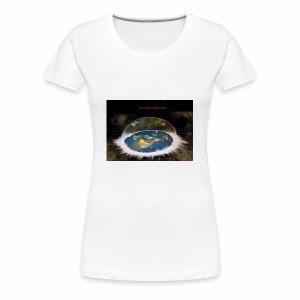 Flat Earth Dome - Women's Premium T-Shirt