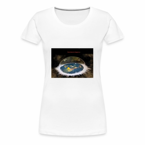 Flat Earth Dome - Women's Premium T-Shirt