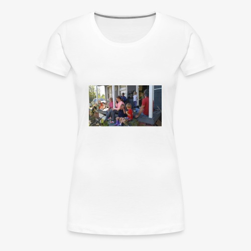 A family Gathering - Women's Premium T-Shirt