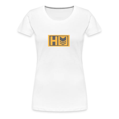 Copy of Hammer Down Logo (Small) - Women's Premium T-Shirt