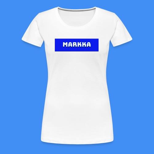 Markka Box Design - Women's Premium T-Shirt
