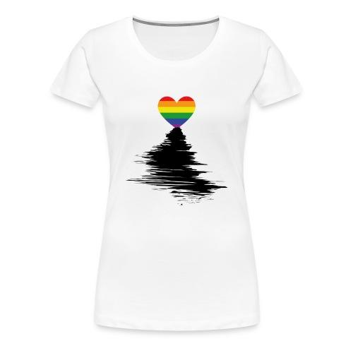 Rainbow Sunset - Women's Premium T-Shirt