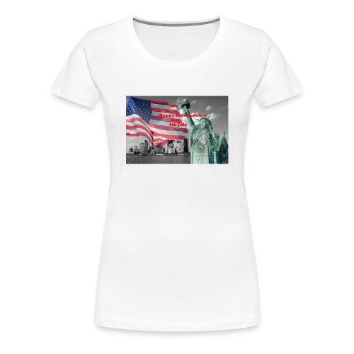 USA Independence Day - Women's Premium T-Shirt