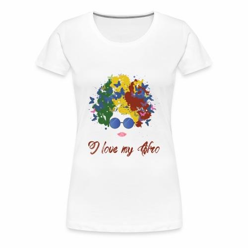 new afro - Women's Premium T-Shirt