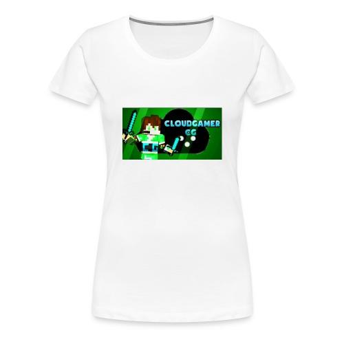 CloudGamer's Shirt (Baby) - Women's Premium T-Shirt