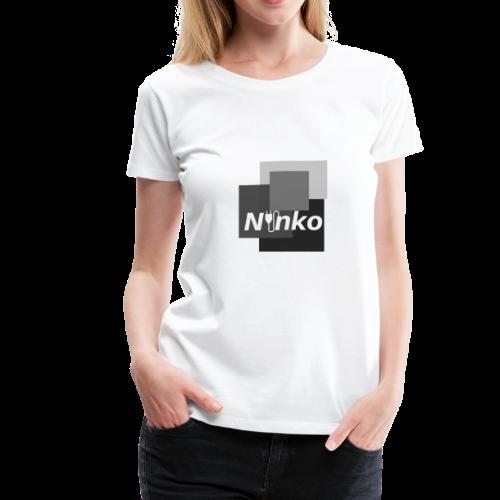 Ninko Black and White - Women's Premium T-Shirt
