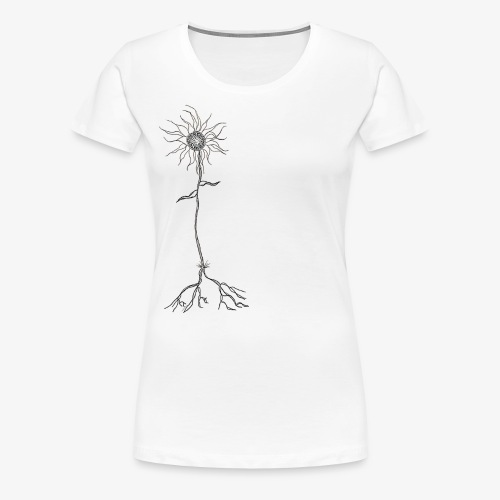 Fleur de la Dépression - Women's Premium T-Shirt
