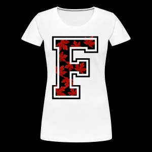 CANADIAN F LOGO - Women's Premium T-Shirt