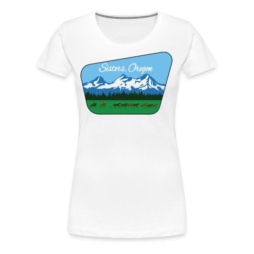 Sisters Oregon - Women's Premium T-Shirt